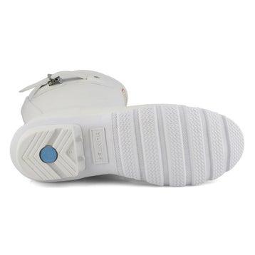 Women's Original Short Classic Rain Boot - White