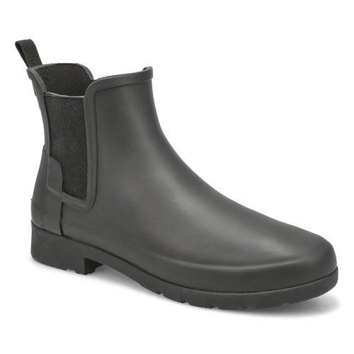 Lds OrgRefinedChelsea blk rainboot