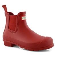 Women's ORIGINAL CHELSEA military red rain boots