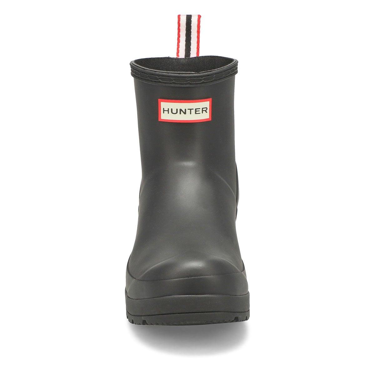 Women's Original Play Short Rain Boot - Black