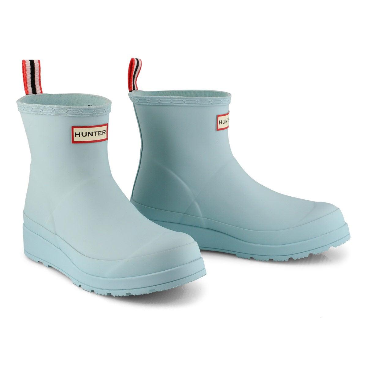 Women's Original Play Short Rain Boot - Eucalyptus