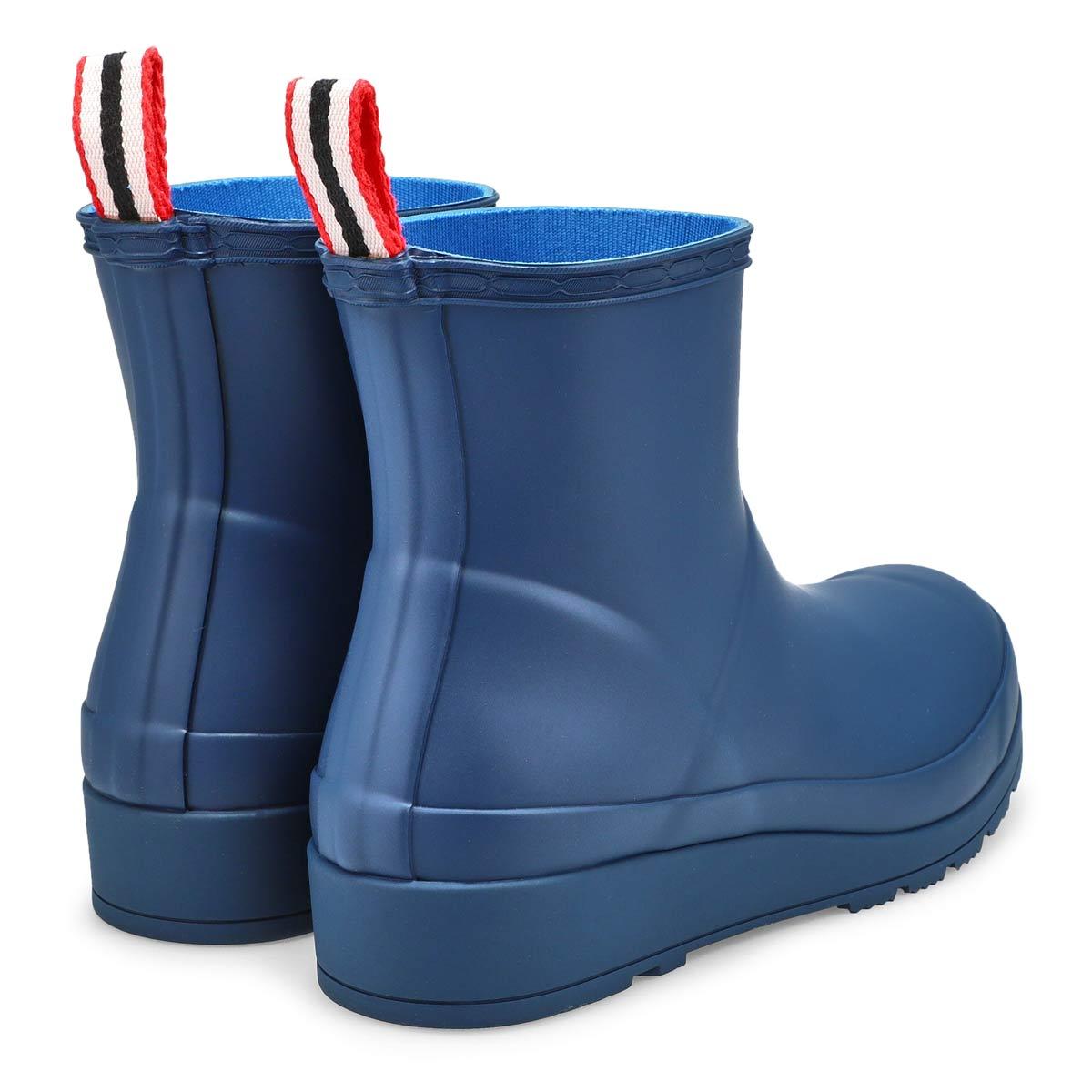 Women's Original Play Short Rain Boot - Navy