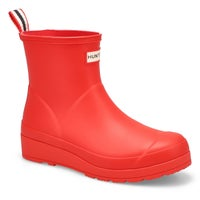 Women's Original Play Short Rain Boot - Red