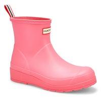 Women's Original Play Short Rain Boot - Pink