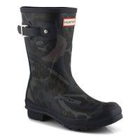 Women's Original Short Butterfly Rain Boot - Black