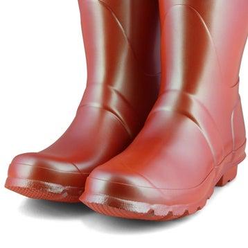 Women's Original Short Nebula Rain Boot - Poppy