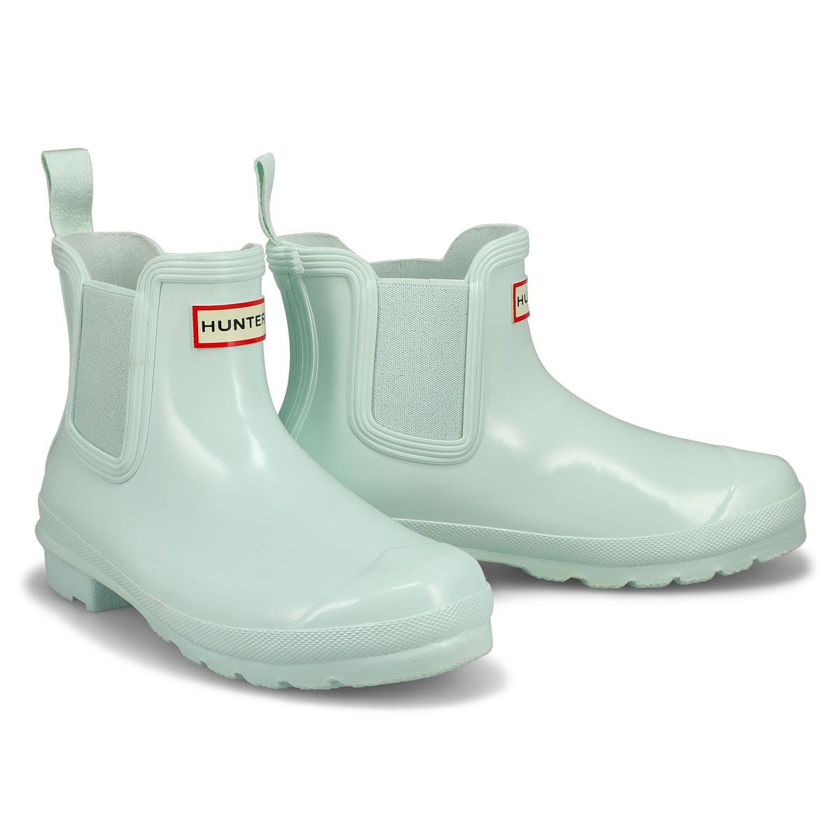Women's Original Chelsea Gloss Rain Boot-Spearmint