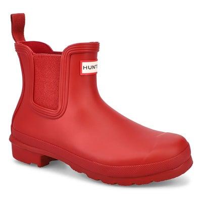 Lds Original Chelsea Rainboot- Red