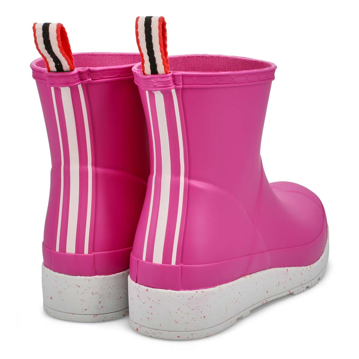 Women's Play Short Speckle Rain Boot - Sweet