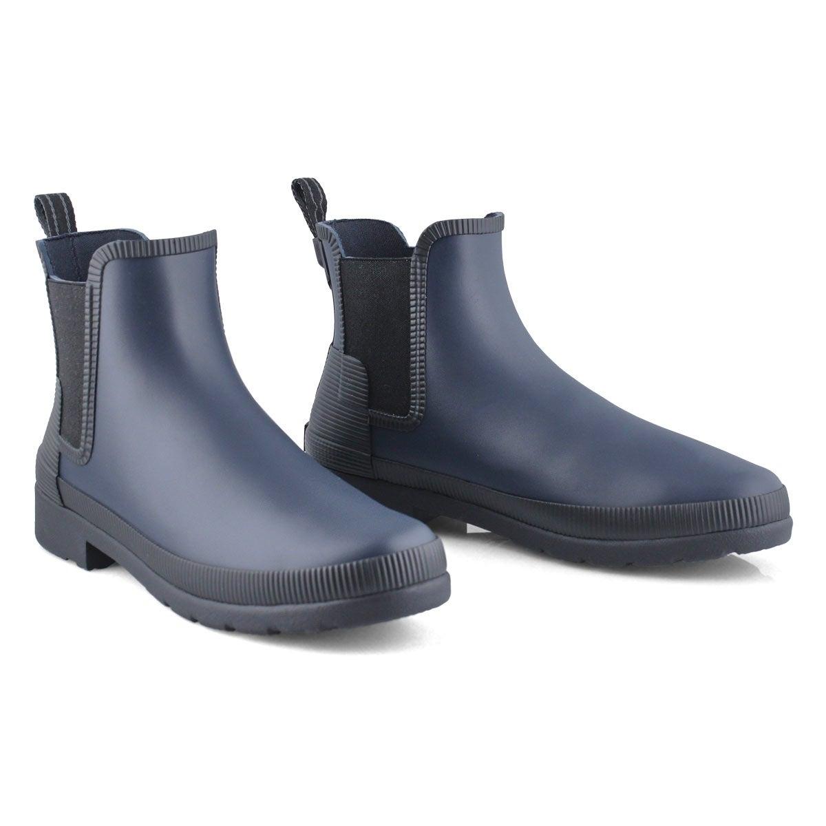 Women's Original Refined Chelsea Rain Boot - Ny/Bk