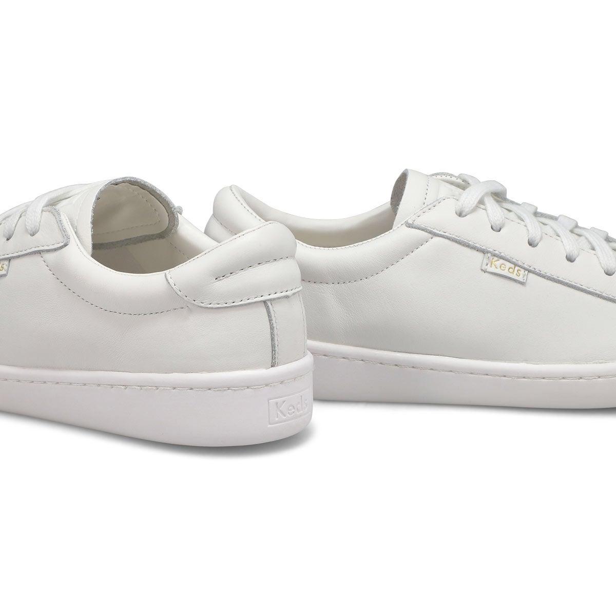 Women's Ace Sneaker - White/White