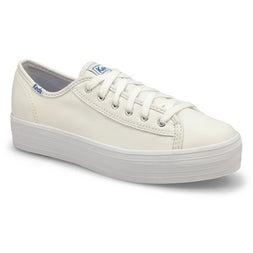 Lds Triple Kick Leather white sneaker