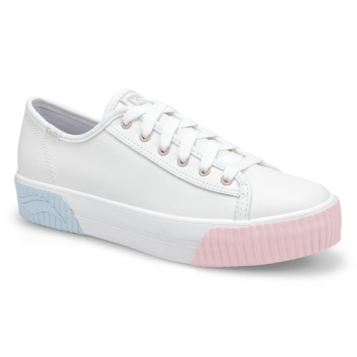 Women's Triple Kick Amp Sneaker - White/Multi