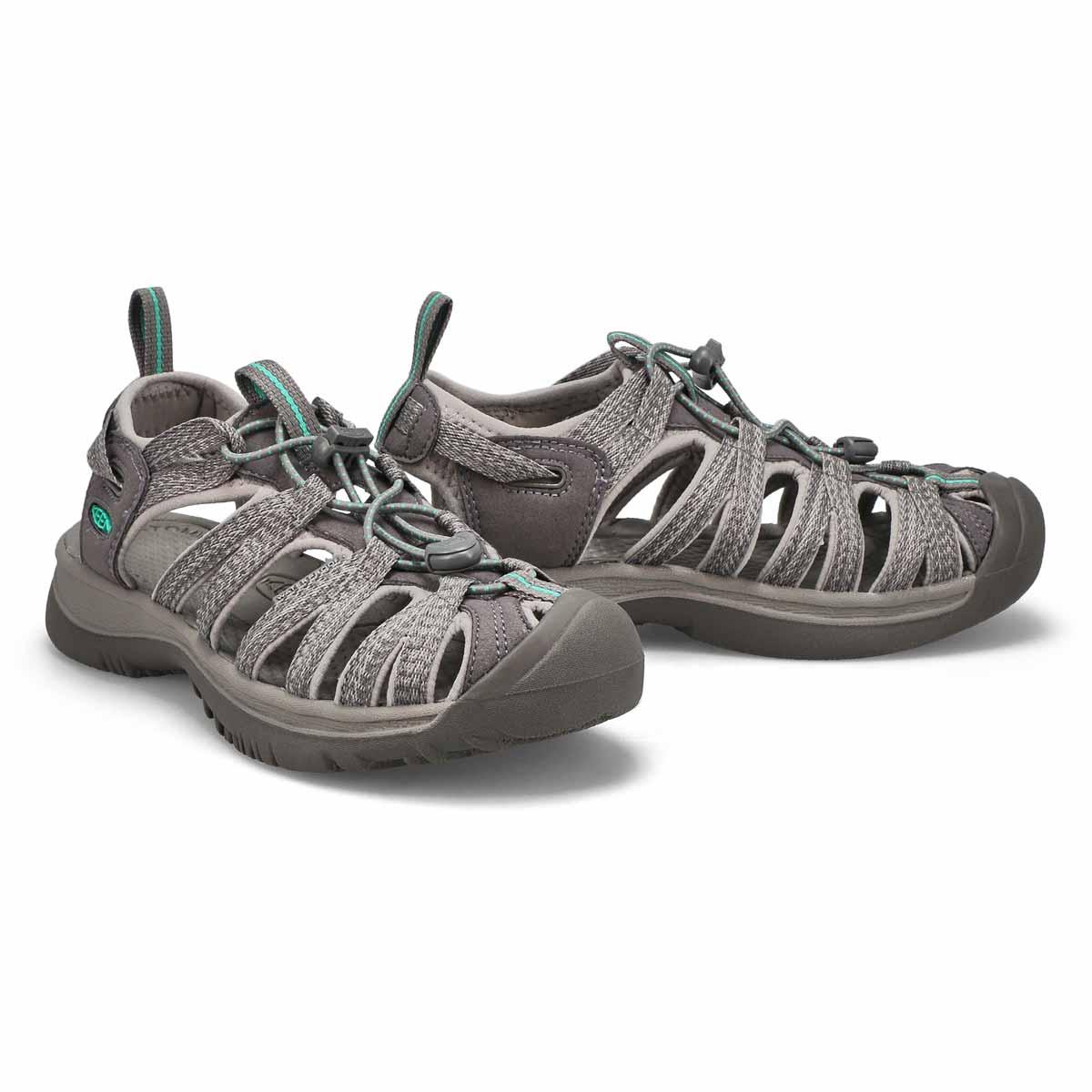 Women's Whisper Sport Sandal - Grey/Green