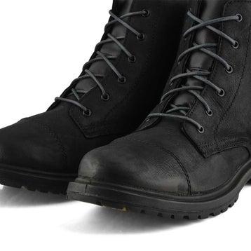 Men's Smith Waterproof Combat Boot - Black