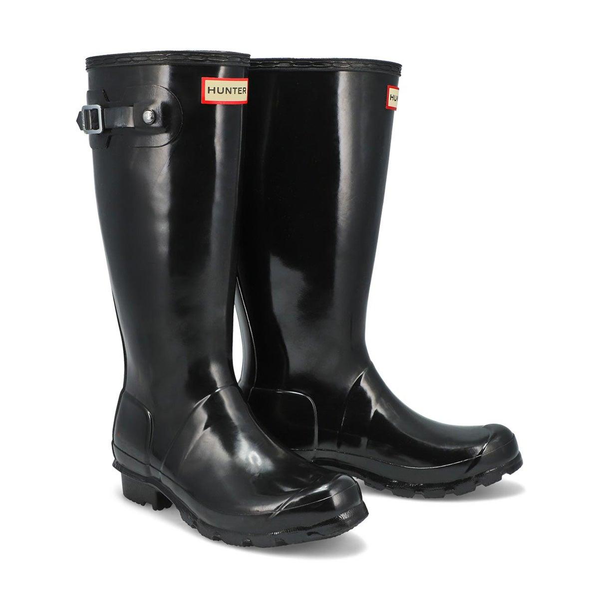 Girls' Original Gloss Rain Boot - Black