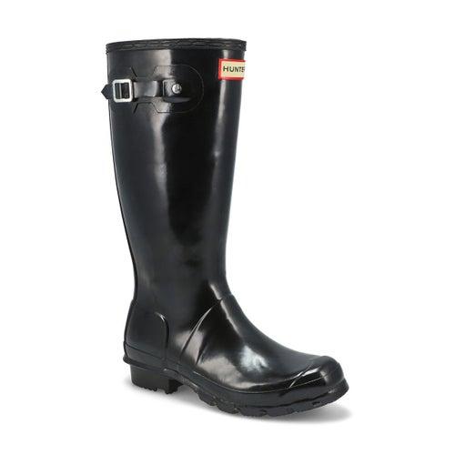 Grls Original Gloss black rain boot