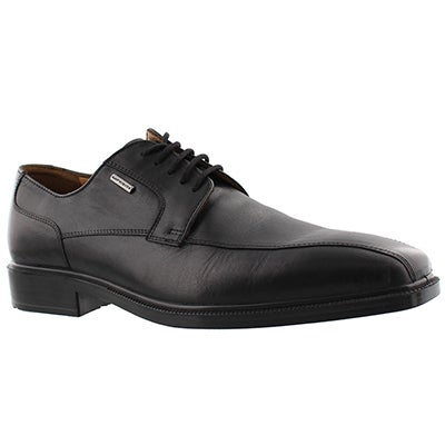 Geox Men's ALEX black waterproof lace up dress oxfords
