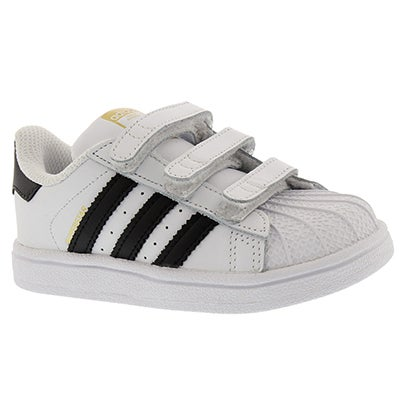 Adidas Infants' SUPERSTAR CF white/black sneakers