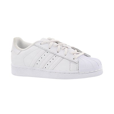 Adidas Espadrilles SUPERSTAR FOUNDATION, blanc, enfants