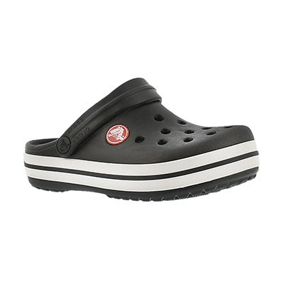 Crocs Kids' CROCBAND black EVA comfort clogs