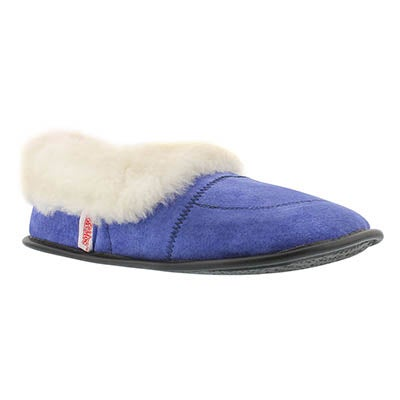 SoftMoc Women's CUFF washable sheepskin & suede slippers