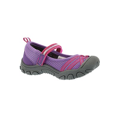 MAP Infants' LILITH 3 purple maryjane shoes