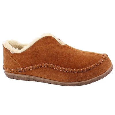 Foamtreads Men's LINCOLN spice closed back slippers