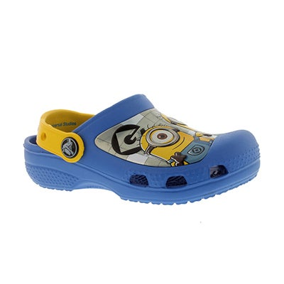 Crocs Kids' MINIONS blue/yellow comfort clogs