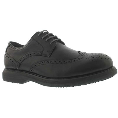 SoftMoc Men's MOTION black 4-Eye dress oxfords