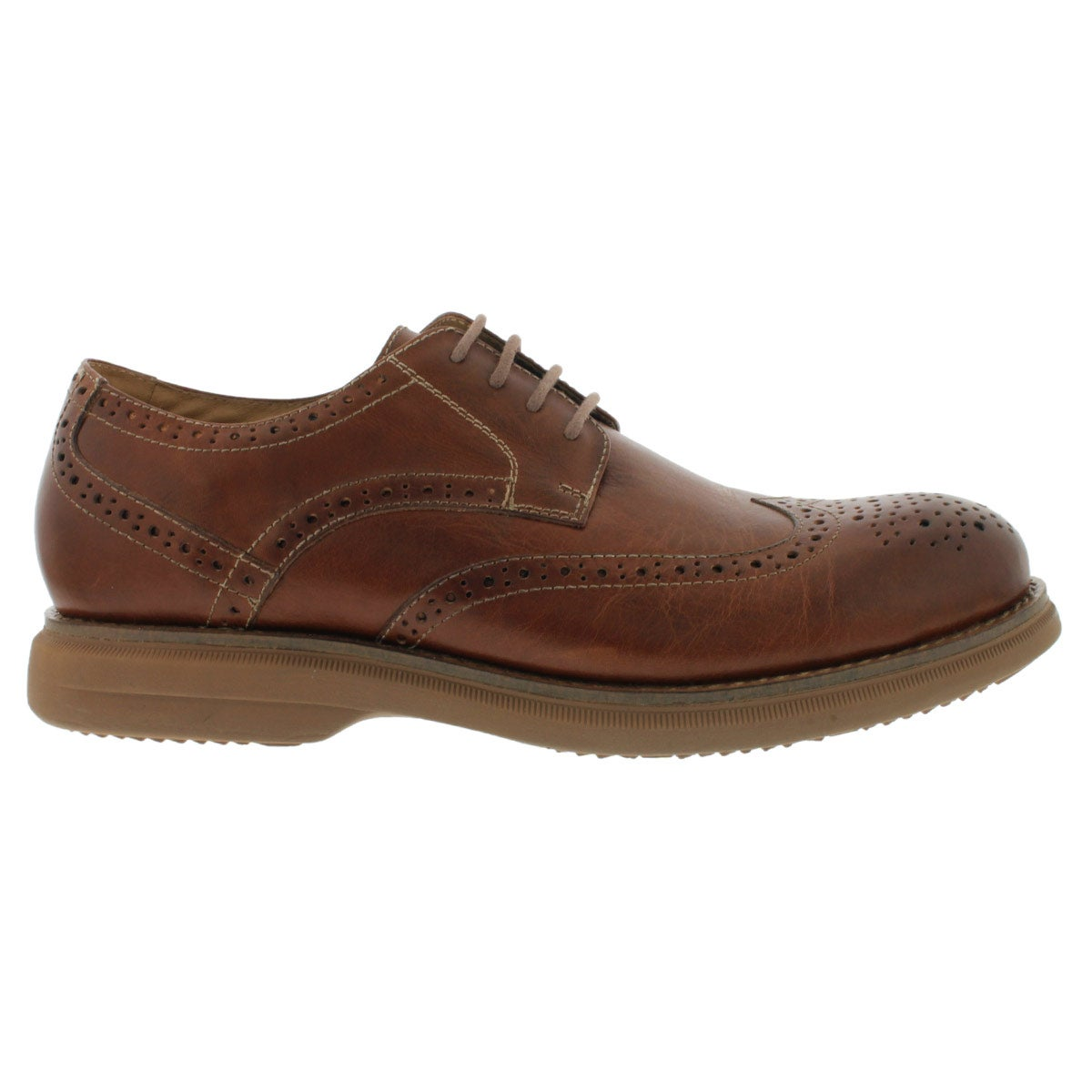 Mns Motion cognac 4-eye dress shoe
