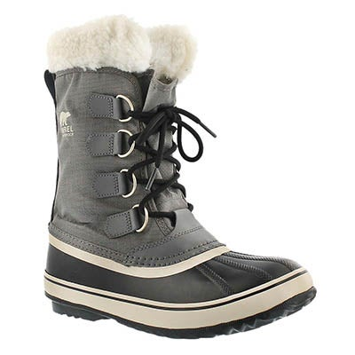 Sorel Women's WINTER CARNIVAL pewter winter boots