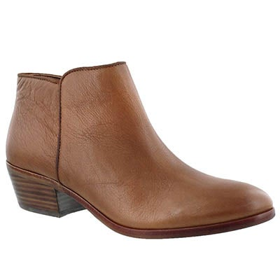 Sam Edelman Women's PETTY saddle leather casual booties