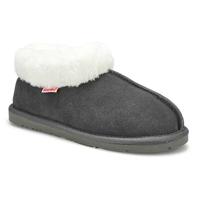 SoftMoc Women's SAVANNA grey suede booties