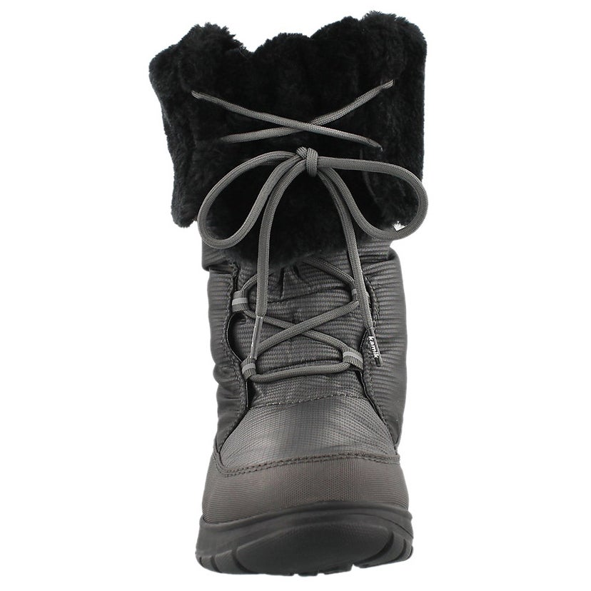 Botte d'hiver Seattle, anthracite, fem