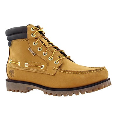 Mns Oakwell 7 eye wheat ankle boot
