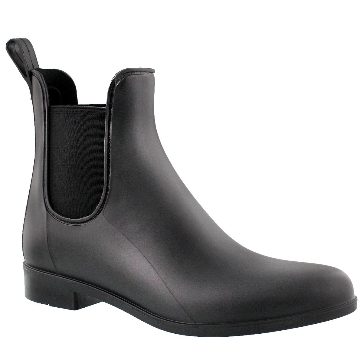 Women's TINSLEY black matte rain boots