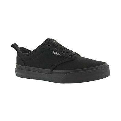 Vans Boys' ATWOOD black/black slip on sneakers