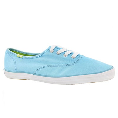 Keds Women's CHAMPION sky blue canvas CVO sneakers