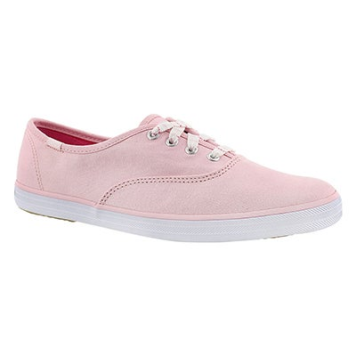 Keds Women's CHAMPION light pink canvas sneakers