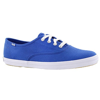 Keds Women's CHAMPION blue canvas sneakers