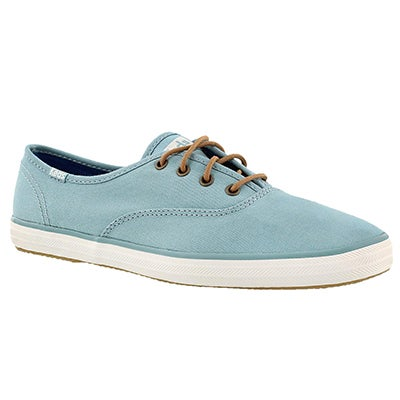 Keds Women's CHAMPION dusty blue canvas sneakers