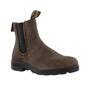 Women's Girlfriend Rustic Brown Pull On Boots
