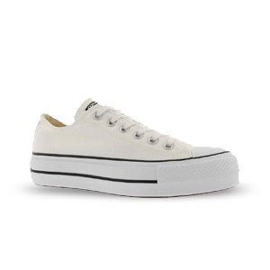 Women's Ct All Star Lift White Platform Sneakers