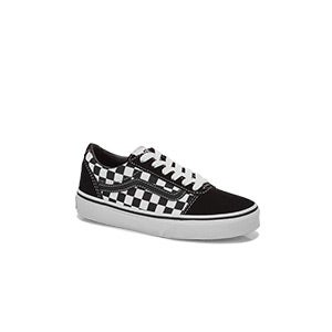 Boys' Ward Checkered Lace Up Sneaker