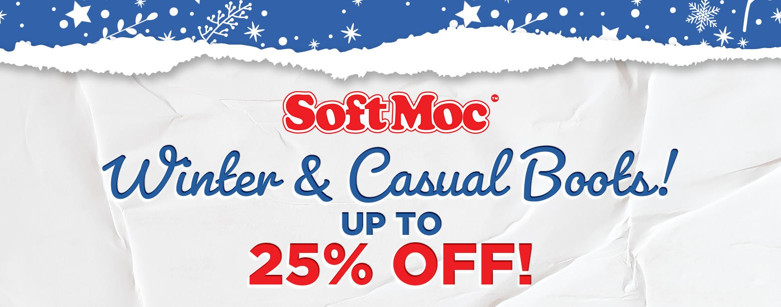 SoftMoc - Winter & Casual Boots! Up to 25% Off!