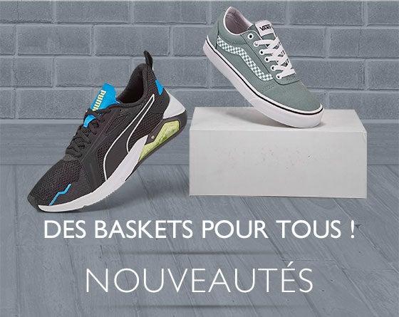 Des baskets pour TOUS !