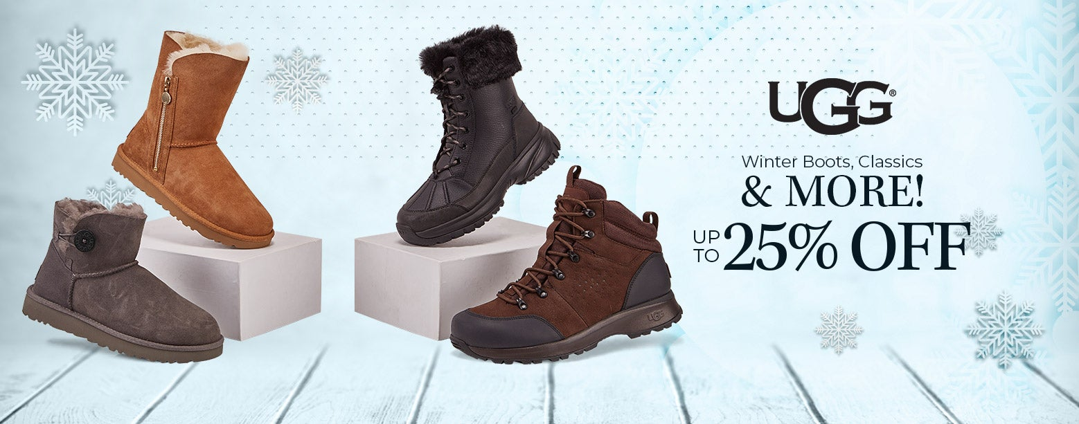 UGG - Up to 25% Off! Winter Boots, Classics & More!