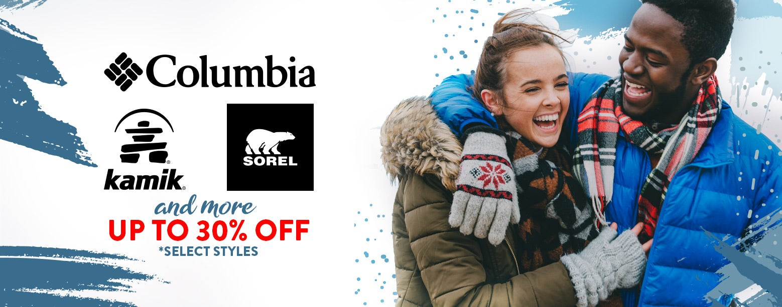 Columbia, Kamik, Sorel & More! Up to 30% Off select styles