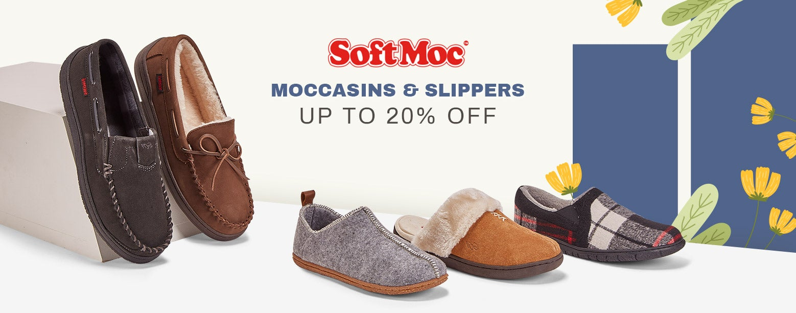 SoftMoc - Moccasins & Slippers - Up to 20% Off